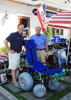 Avalon Receives Donation Of Handiced Beach Chair
